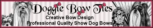 Professional Quality Show Dog Bows